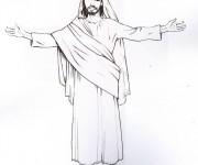 Coloriage Jesus 8