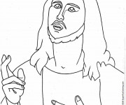 Coloriage Jésus Christ