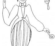Coloriage et dessins gratuit Jongleur au crayon à imprimer