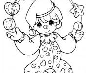 Coloriage et dessins gratuit Jongleur Enfant à imprimer