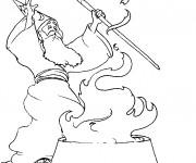 Coloriage et dessins gratuit Les Rituels de Magicien à imprimer