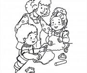 Coloriage dessin  Cuisinier 31