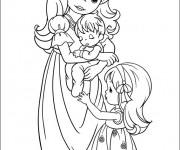 Coloriage dessin  Maman 10
