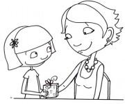 Coloriage dessin  Maman 5