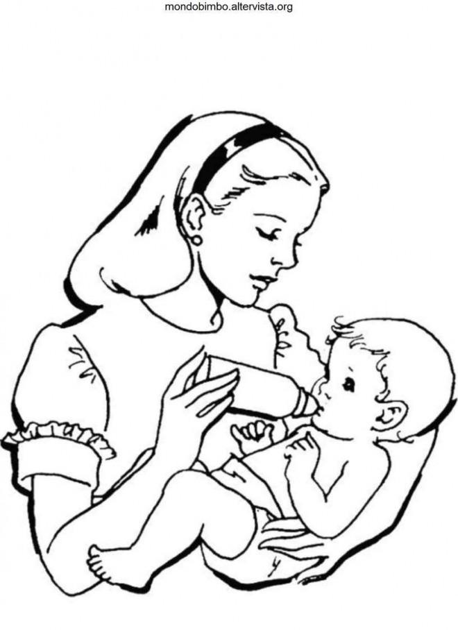 coloriage maman dessin pour enfant dessin gratuit imprimer. Black Bedroom Furniture Sets. Home Design Ideas