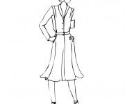 Coloriage et dessins gratuit Mannequin 11 à imprimer