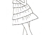 Coloriage et dessins gratuit Mannequin 13 à imprimer