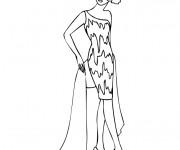 Coloriage dessin  Mannequin 23