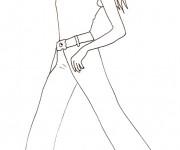 Coloriage dessin  Mannequin 30