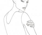 Coloriage dessin  Mannequin 69