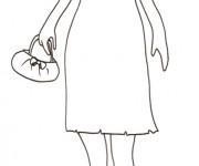 Coloriage dessin  Mannequin 73