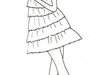 Coloriage et dessins gratuit Mannequin maternelle à imprimer