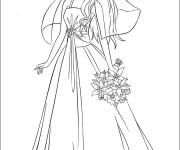 Coloriage Mannequin Princesse