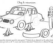 Coloriage dessin  Mecanicien 18