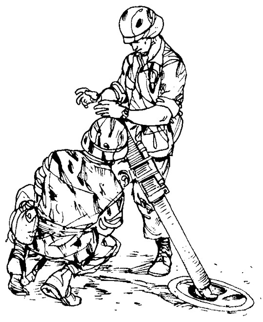 Coloriage et dessins gratuits Arme Militaire à imprimer
