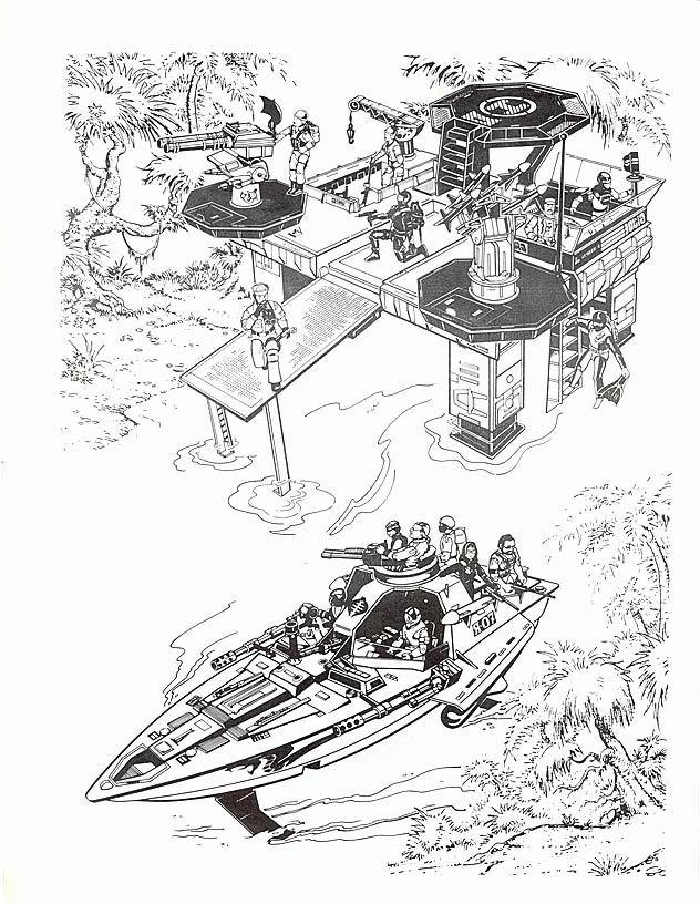 Coloriage et dessins gratuits Guerre dessin animé à imprimer