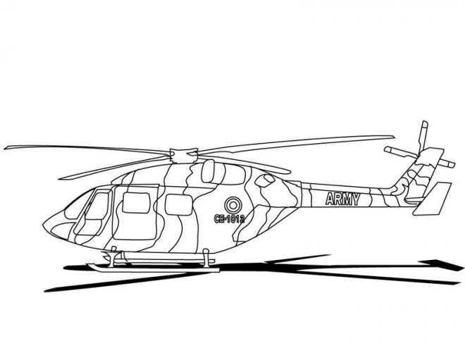 Coloriage h licopt re militaire couleur - Coloriage helicoptere cars ...