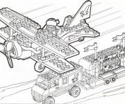 Coloriage dessin  Lego City 28