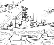 Coloriage dessin  Militaire 10
