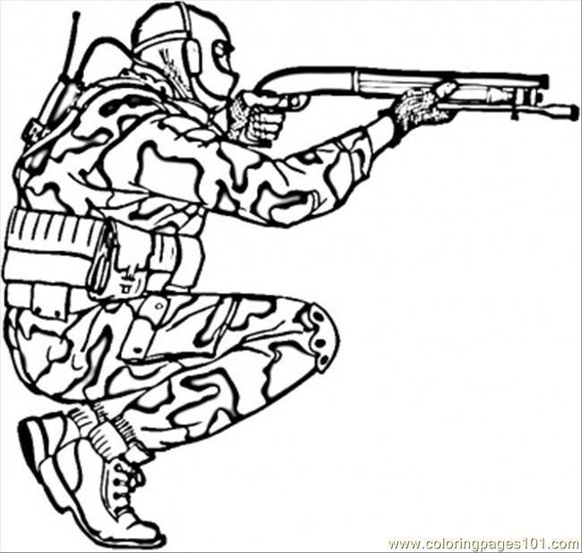 Coloriage militaire de force sp cial dessin gratuit imprimer - Dessin de militaire ...