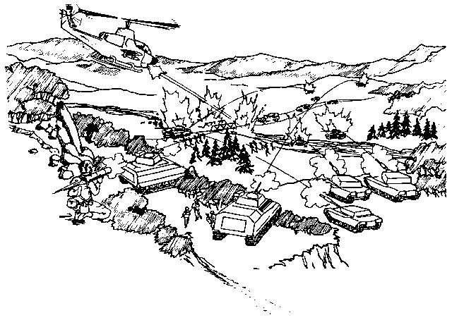 Coloriage et dessins gratuits Militaire en guerre à imprimer