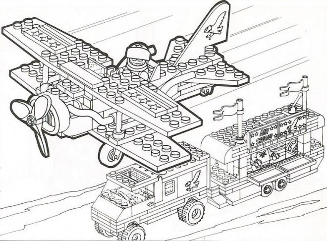 Coloriage et dessins gratuits Militaire Lego à imprimer