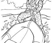 Coloriage et dessins gratuit Militaire Marines à imprimer
