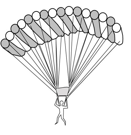 Coloriage parachute dessin gratuit imprimer - Dessin parachutiste ...