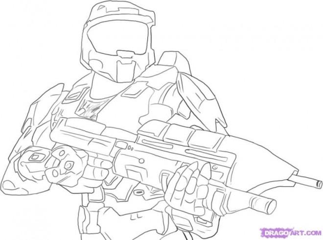 Coloriage Soldat Militaire dessin anim dessin gratuit