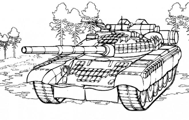 Coloriage v hicule blind de guerre - Coloriage de tank ...