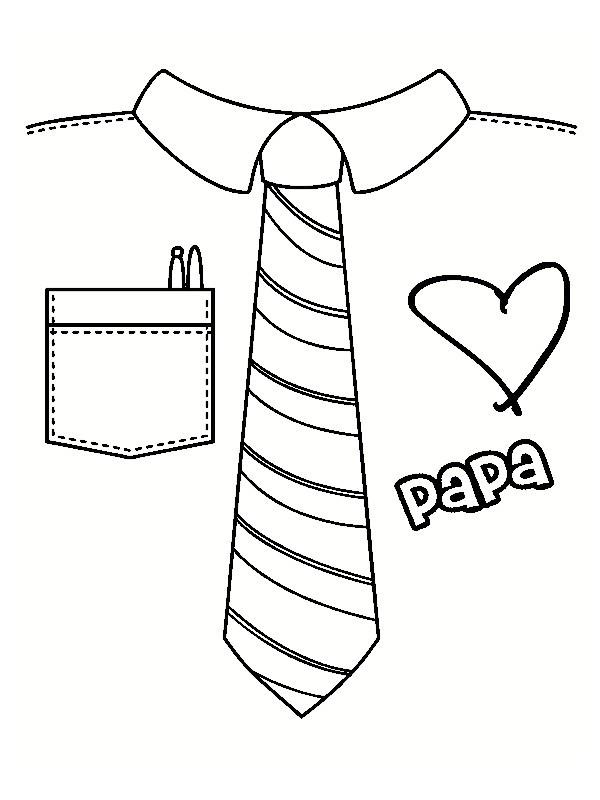Coloriage dessin pour papa dessin gratuit imprimer - Dessin pour la fete des papa ...