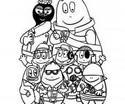 Coloriage et dessins gratuit Papa et famille dessin à imprimer
