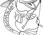 Coloriage et dessins gratuit Poisson pompier à imprimer