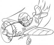 Coloriage et dessins gratuit Pilote 12 à imprimer