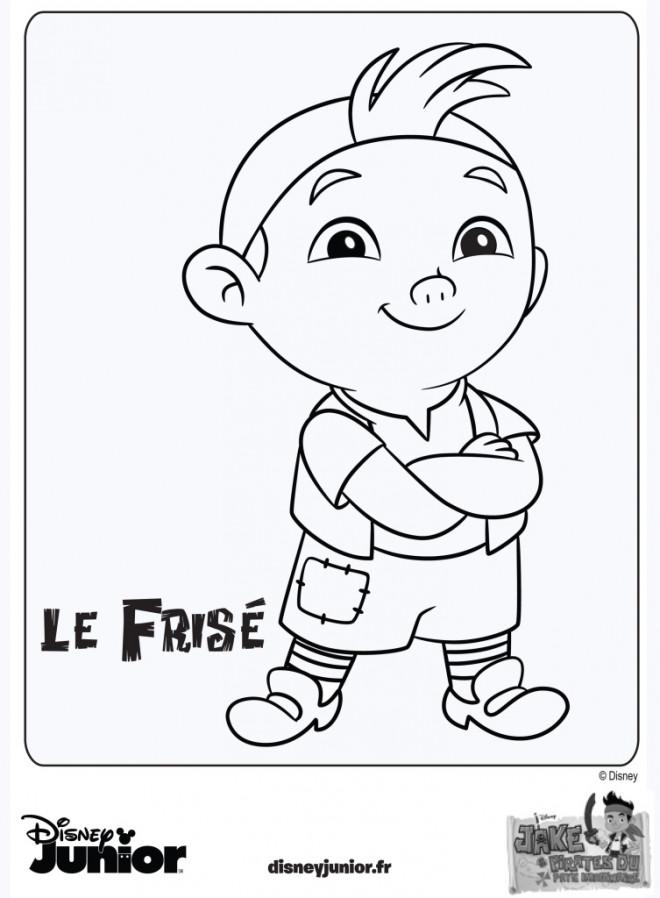 Coloriage et dessins gratuits Le Frisé à imprimer
