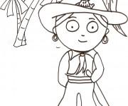 Coloriage dessin  Pirate 4