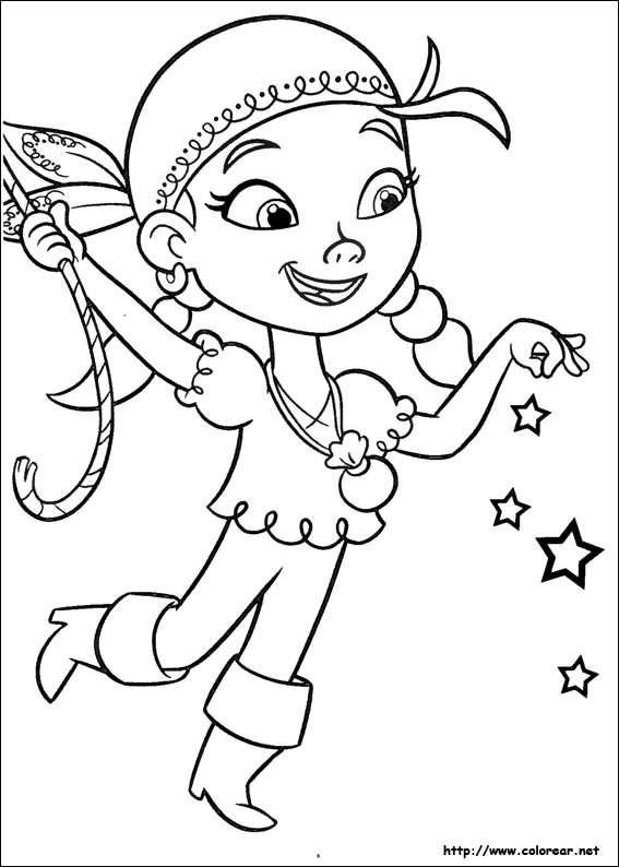 Coloriage pirate fille disney dessin gratuit imprimer - Coloriage jack le pirate ...