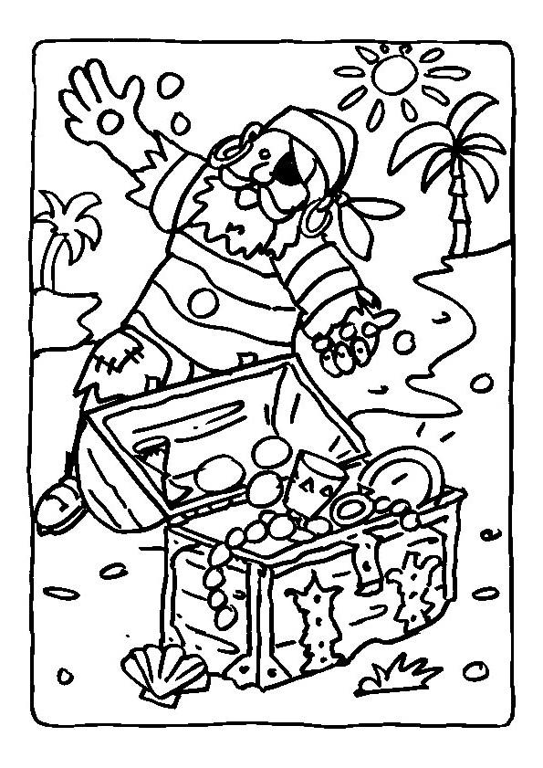 Coloriage et dessins gratuits Pirates 31 à imprimer