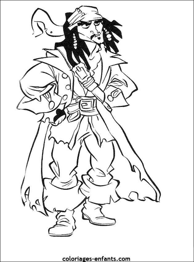 Coloriage et dessins gratuits Pirates 39 à imprimer