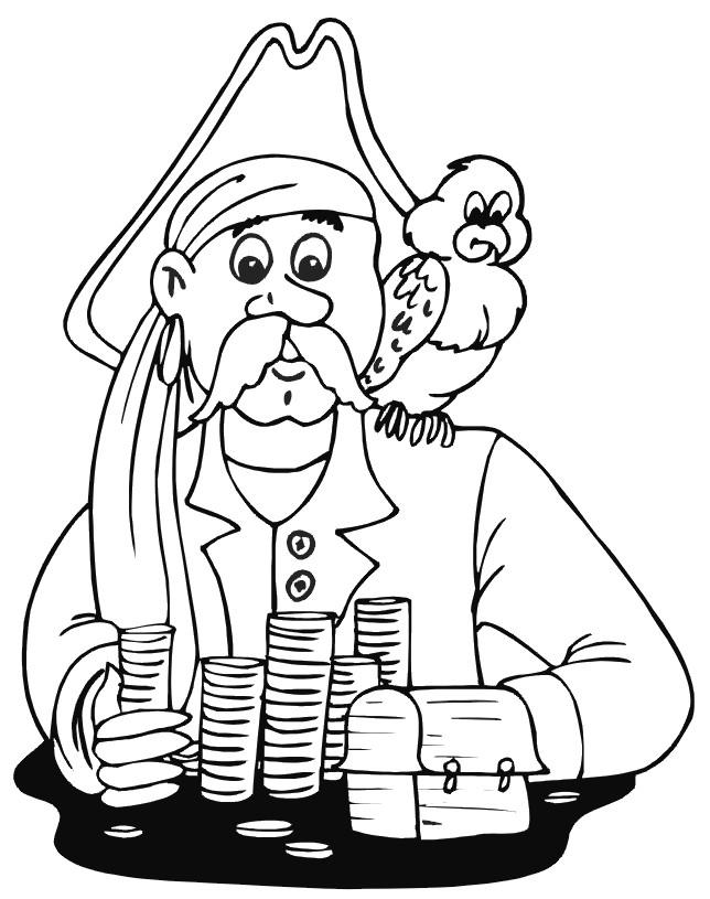 Coloriage et dessins gratuits Pirates 41 à imprimer