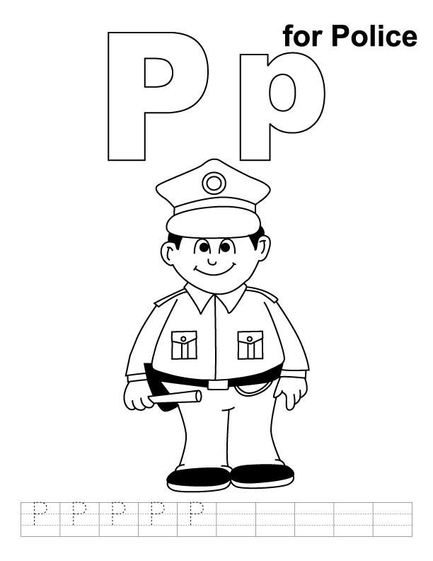 Coloriage et dessins gratuits Un officier à imprimer