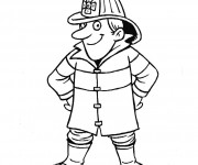 Coloriage dessin  Sam le Pompier 26