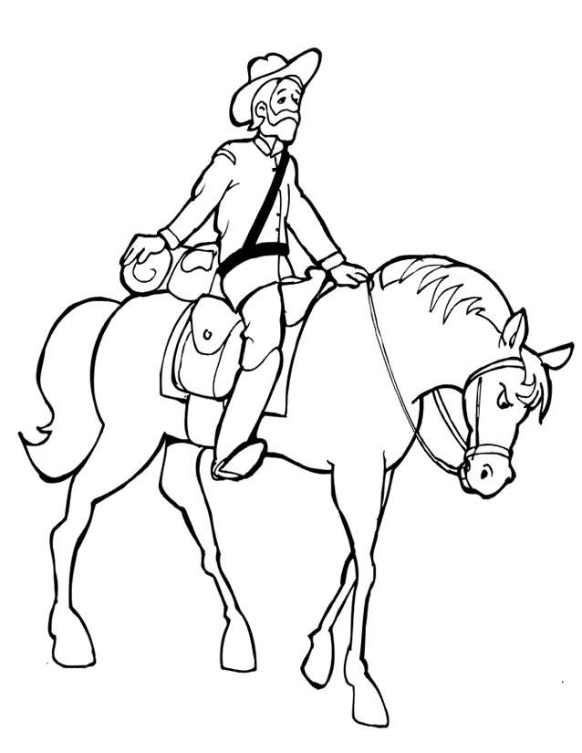 Coloriage et dessins gratuits Soldat chevalier à imprimer