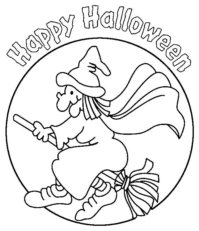 Coloriage et dessins gratuits Halloween gratuite à imprimer