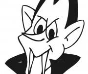 Coloriage le regard de Vampire