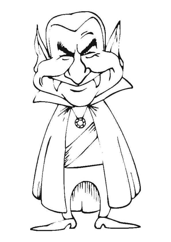 Coloriage petit vampire dessin gratuit imprimer - Dessins de vampires ...
