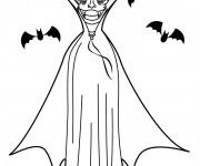 Coloriage et dessins gratuit Vampire en couleur à imprimer