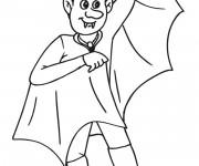 Coloriage et dessins gratuit Vampire en ligne à imprimer