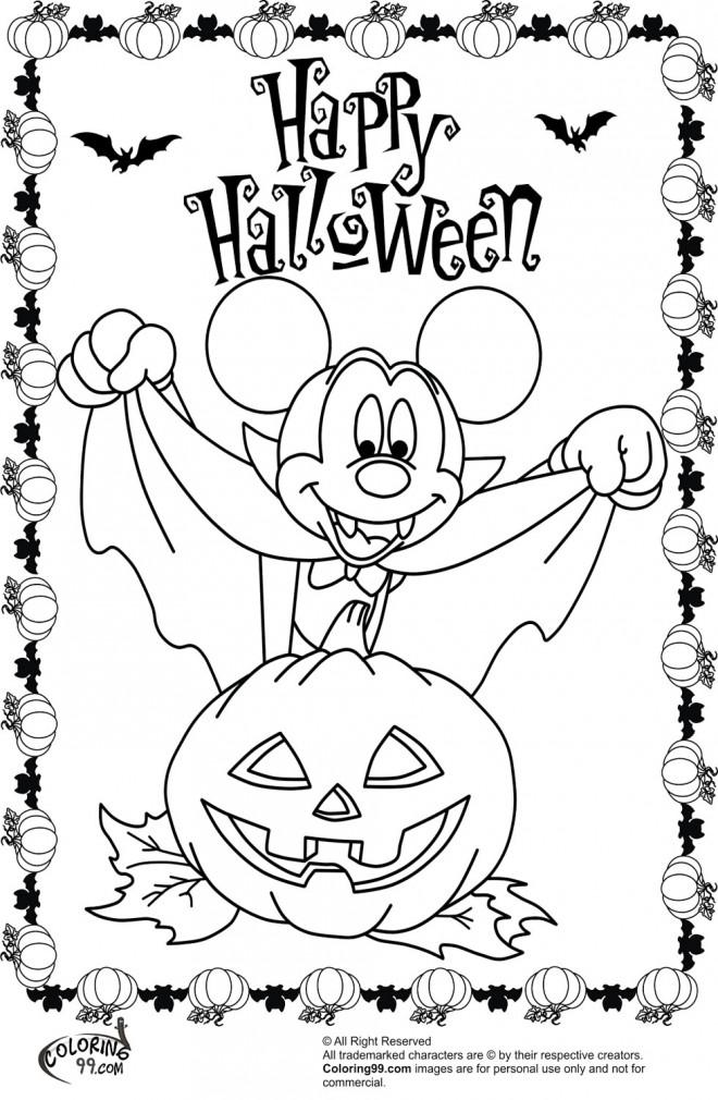coloriage vampire mickey mouse dessin gratuit imprimer. Black Bedroom Furniture Sets. Home Design Ideas