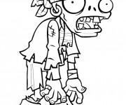 Coloriage et dessins gratuit Plants Vs Zombies à imprimer